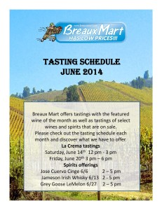 La Crema tasting schedule form (2)