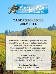 tasting schedule form July (1)